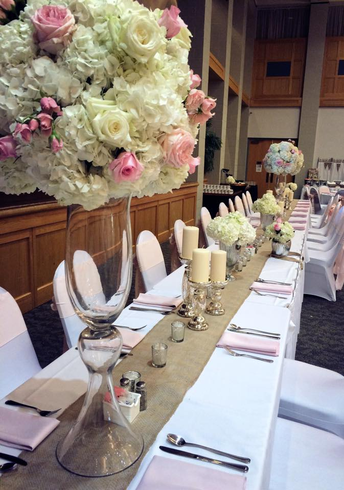 Pastels Head Table