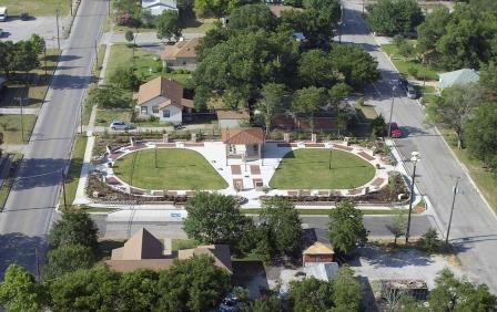 Decatur Veterans Park Aerial